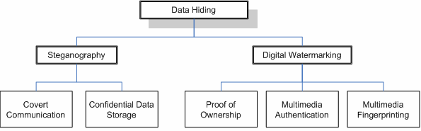 Data Hiding Application Areas
